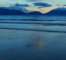 Inch Strand After Sunset Sticker