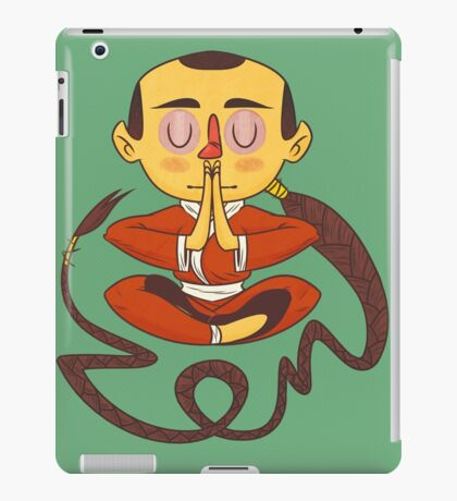 Zen boy iPad Case/Skin