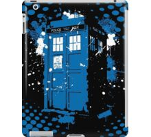 Retro Ink Splash in Time and Relative Dimension In Space iPad Case/Skin