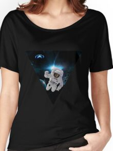 Capitain KitKat Lost in Space Women's Relaxed Fit T-Shirt