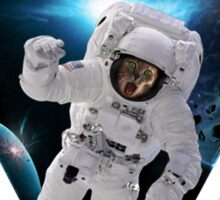 Capitain KitKat Lost in Space Sticker