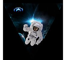 Capitain KitKat Lost in Space Photographic Print