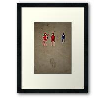 8-Bit Marvels Daredevil Framed Print