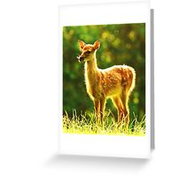 All alone in the world II Greeting Card