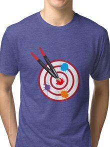 PaintingOnTarget Tri-blend T-Shirt