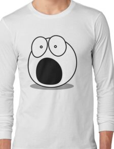 What? by Chillee Wilson Long Sleeve T-Shirt