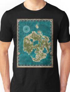 Pirate Adventure Map Unisex T-Shirt