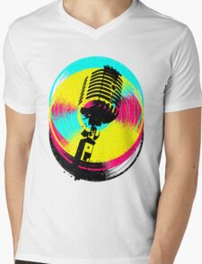 Colors and records V.II Mens V-Neck T-Shirt