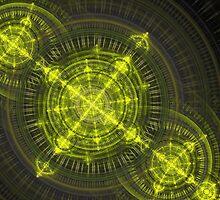 Radioactive fractal by MartinCapek