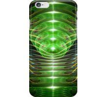 Green helix iPhone Case/Skin