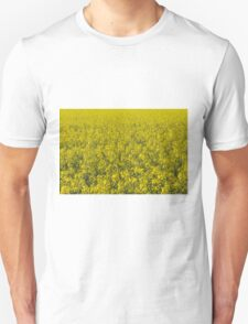 blooming field of rapeseed T-Shirt