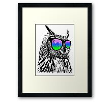 Cool Owl Framed Print