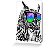 Cool Owl Greeting Card
