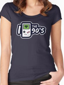 I Love the 90's Women's Fitted Scoop T-Shirt