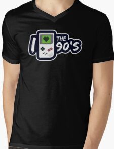 I Love the 90's Mens V-Neck T-Shirt