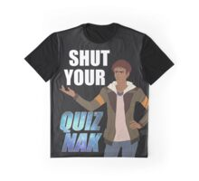 Shut your Quiznak, voltron inspired print Graphic T-Shirt