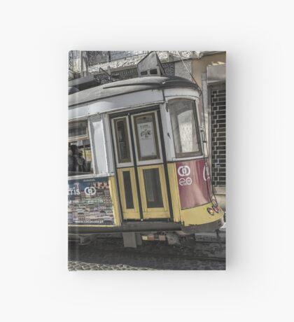 Lisbon Tram  Hardcover Journal