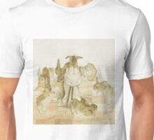 A series of Rabbits at a party by Beatrix Potter Unisex T-Shirt