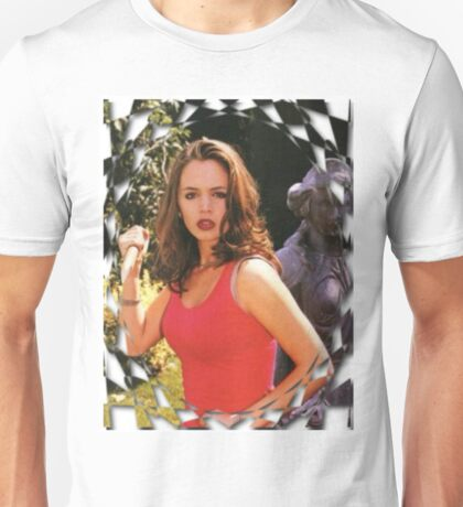 Buffy Angel Faith Eliza Dushku Unisex T-Shirt
