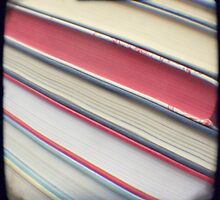 Diagonal red books by gailgriggs