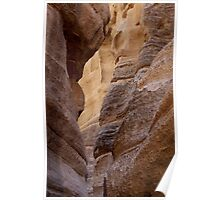 Slot Canyon - Tent Rocks, New Mexico Poster