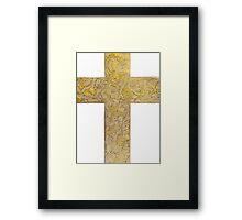 ANGEL CROSS (Angels) Framed Print