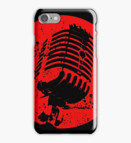 King of pop mic iPhone Case/Skin
