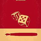 No348 My Casino minimal movie poster by Chungkong