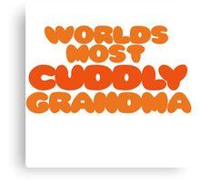Cuddly Grandma Canvas Print