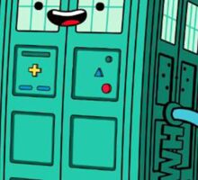 Adventure Time BMO-doctor who Sticker