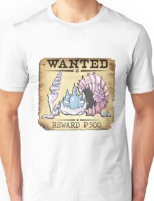 Alolan Kingler - Most Wanted Poster Unisex T-Shirt