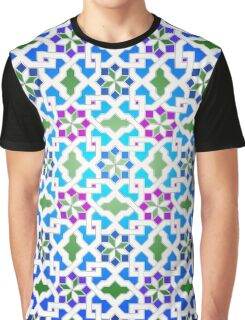 Beautiful oriental flower pattern 9 Graphic T-Shirt