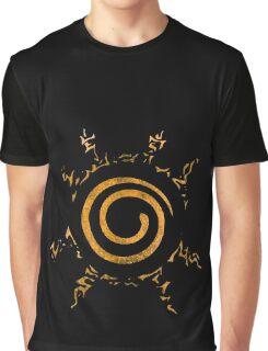 °MANGA° Kurama's Seal Rust Graphic T-Shirt