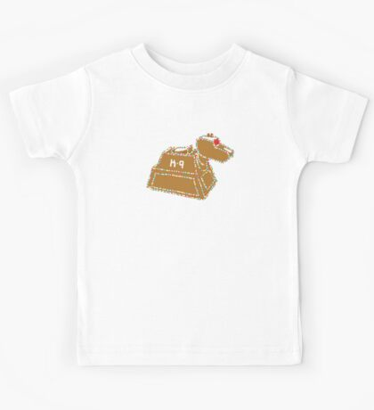 Gingerbread K-9 Kids Tee