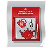 Social Protocol Emergency Poster