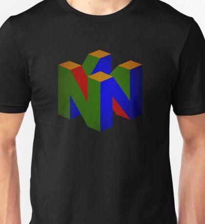 °GEEK° Nintendo 64 Rust Logo Unisex T-Shirt