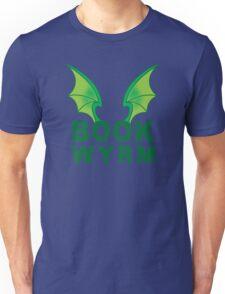 BOOK WYRM (bookworm) Dragon wings Unisex T-Shirt