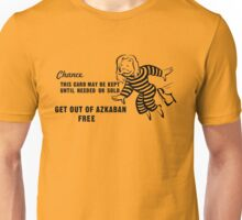 Get Out of Azkaban Free Card Unisex T-Shirt