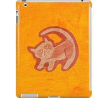 Grumpy King (textured) iPad Case/Skin