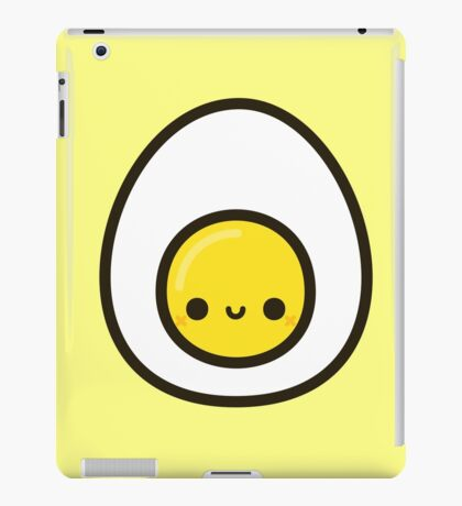 Yummy egg iPad Case/Skin