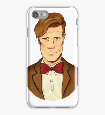 11th Doctor - Matt Smith iPhone Case/Skin