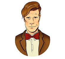 11th Doctor - Matt Smith Photographic Print