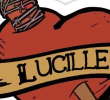 The Walking Dead, Lucille T shirt Sticker