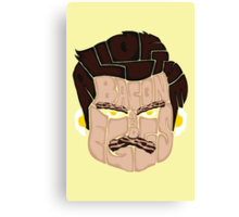 All of the Bacon and Eggs - Ron Swanson Canvas Print