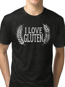 Gluten Allergy Tri-blend T-Shirt