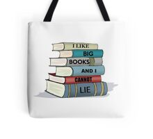 I LIKE BIG BOOKS - Librarian Gifts Tote Bag