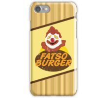 Fatso Burger (That '70s Show) iPhone Case/Skin