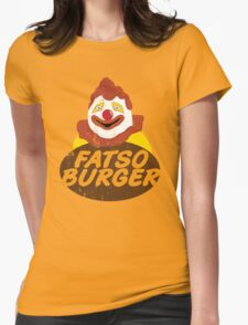 Fatso Burger (That '70s Show) Womens Fitted T-Shirt