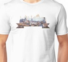Rome Hill View White Unisex T-Shirt