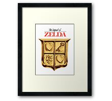 Zelda Logo Framed Print